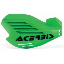 Coppia Paramani Acerbis X-Force Verde Kawasaki
