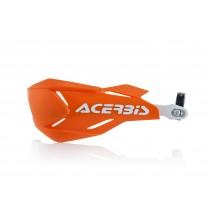 Coppia Paramani Acerbis X-Factory Arancio Bianco