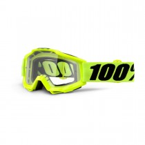 Maschera 100% Accuri - Fluo Yellow Clear