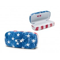 Custodia Rigida Occhiali Oakley Square O Hard Case U.S.A. Flag