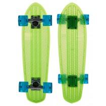 Skateboard Completo Globe BANTAM Clears 24'' Lime Raw Light