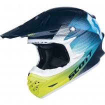 Casco Scott 350 Pro Dirt - Blue/Green