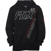 Felpa Fox Honda Zip Fleece Black