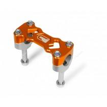 Supporto Manubrio Altezza 40mm ø28 KTM SX-SXF-EXC-EXCF 125=>530  2000=>2016