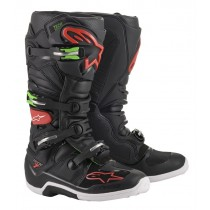 Stivali Cross Alpinestars Tech 7 - Nero Rosso Verde