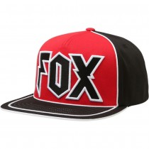 Cappellino Fox Faction Snapback Hat Rosso