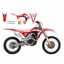 Kit Grafiche Replica Team HRC Honda CRF 250-450 2017=>2018