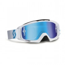 Maschera Scott Tyrant White / Electric Blue