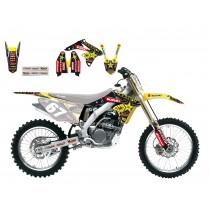 Kit Adesivi Replica Team Suzuki Rockstar RMZ 250 10>16 / RME/SM 50