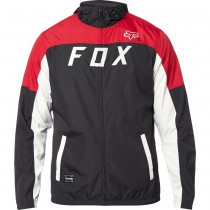 Giacca a vento Fox Moth Black Red