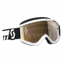 Maschera Scott Recoil Xi White / Gold Chrome