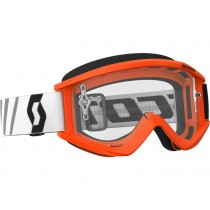 Maschera Scott Recoil Xi Orange / Clear
