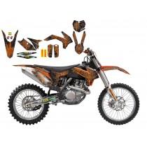 Kit Adesivi Replica Vanni Oddera KTM SX-SXF 13>15 / EXC 14>16