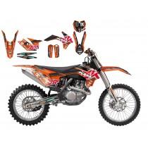 Kit Adesivi Replica Max Bianconcini KTM SX-SXF 13>15 / EXC 14>16