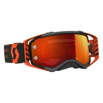 Maschera Scott Prospect Black Orange / Orange Chrome