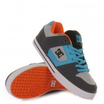 Scarpe DC Shoes Pure Slim - Grey / Vivid Blue
