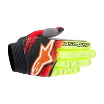 Guanti Cross Alpinestars Techstar Venom - Red / Yellow / Black