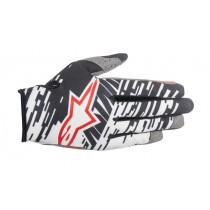 Guanti Cross Alpinestars Racer Braap - Nero / Bianco