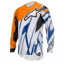 Maglia Alpinestars Techstar Orange Blue