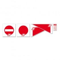 Kit Frecce e Segnali Percorso ENDURO