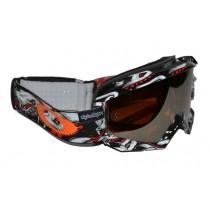 Maschera Oakley Proven MX TLD Medusa / Black Iridium 57-928 Goggles