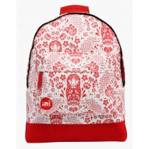 Zaino Donna Mi-Pac Russian Dolls Natural / Red
