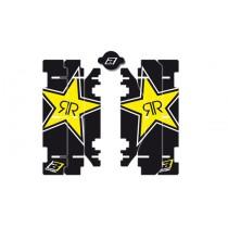 Kit Adesivi Feritoie Radiatore Replica Rockstar Suzuki RM 125-250 01>16