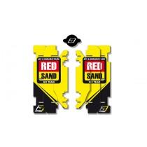 Kit Adesivi Feritoie Radiatore GRP MxGP Suzuki RM 125-250 01>16