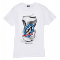 T-shirt Volcom Wasted Youth - Bianco