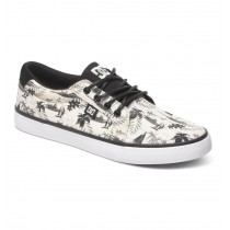 Scarpe DC Shoes Council SP - Nero Bianco Hawaii