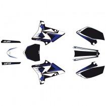 Kit Grafiche Ufo Restyling Yamaha YZ 125-250 Nero