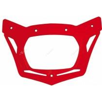 Cornice Portafaro Ricambio Mascherina Rtech V-Face - Rosso Honda