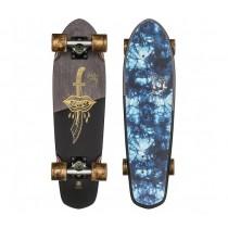 """Skateboard Completo Globe Blazer 26"""" Evil Paradise"""