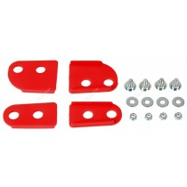 Set Distanziatori Per Mascherina Portafaro Rtech Headlights Rosso Red