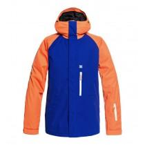 Giacca da Snowboard DC Ripley Blue Orange Fluo