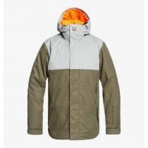 Giacca da Snowboard DC Defy Gray Green