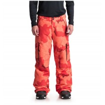 Pantaloni da Snowboard DC Banshee Red Orange Camo