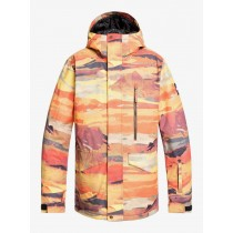 Giacca Snow Quiksilver Mission Red Matte Painting
