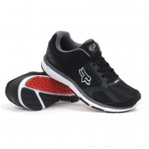 Scarpe Fox Racing Podium Black White