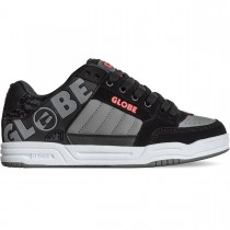Scarpe Skate Globe Tilt Black Red Grey