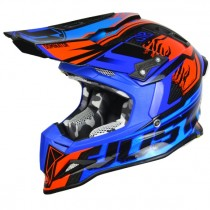 Casco JUST1 J12 Dominator Blue Red