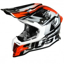Casco JUST1 J12 Dominator White Red