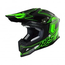 Casco JUST1 J12 Carbon Fluo Geen