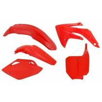 Kit Plastiche Honda CRF 150 2007=>2015 Rtech Plastics Kit Red Color