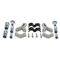 Kit Di Montaggio Fisso Alluminio Paramani Rtech Handguards Mounting