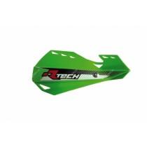 Coppia Paramani Rtech Dual Evo Verde Kawasaki Handguards
