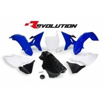 Kit Plastiche Revolution Rtech YZ 125-250 2002=>2016 Blu