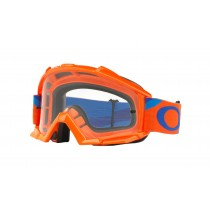 Maschera Oakley Proven Mx Heritage Race Orange Blue