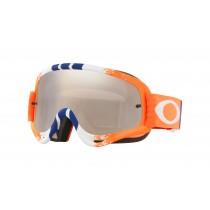 Maschera Oakley O-Frame Orange Blue Black Iridium
