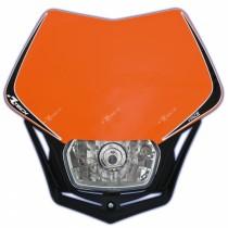 Mascherina Faro Anteriore Rtech V-Face Arancione KTM